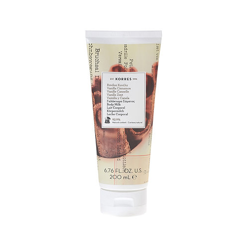 Korres Vanilla Cinnamon Moisturizing Body Milk 200ml