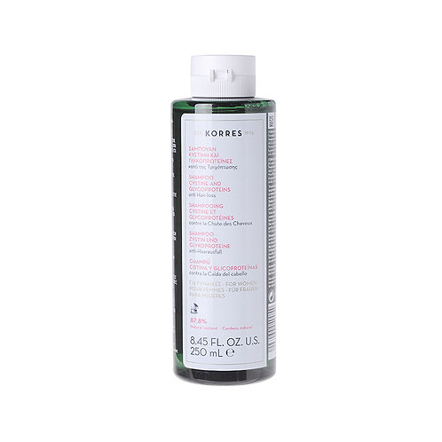 KorresHair Loss Women Shampoo with Cystine & Glycoproteins,8.45 Fl. Oz. / 250ml