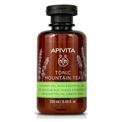 ApivitaTonic Mountain Tea Shower Gelwith Essential Oils,250ml