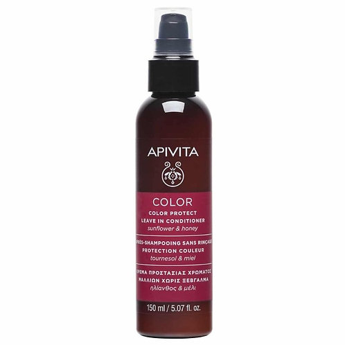 Apivita Color Protect Leave In Conditioner with Sunflower & Honey,150ml