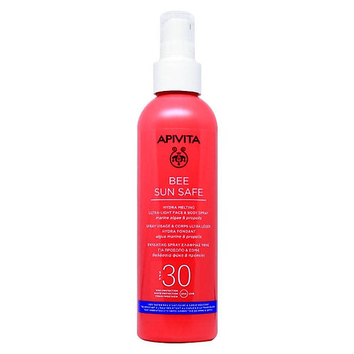 Apivita Bee Sun Safe Hydra Melting Ultra-Light Face & Body Spray SPF30,200ml