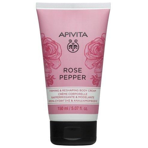 Apivita Rose Pepper Firming and Reshaping Anti-cellulite Body Cream,150ml
