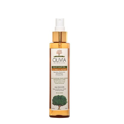 Olivia Hair Oil Repair for Dry Hair,with Greek Olive Oil,130ml