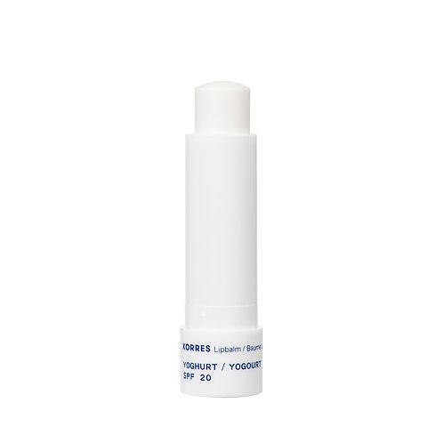 Korres Yoghurt SPF20 Lipbalm Lip Balm Care, 4.5gr