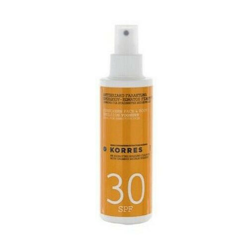 Korres SPF30 Yoghurt Sunscreen Face and Body Cream, 150ml