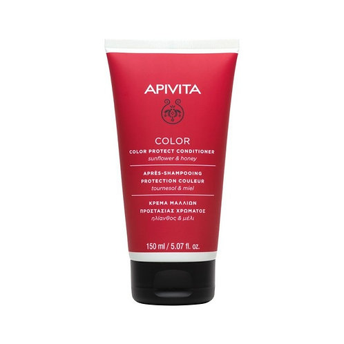 Apivita Color Protect Conditioner for Colored Hair with Sunflower & Honey,150ml