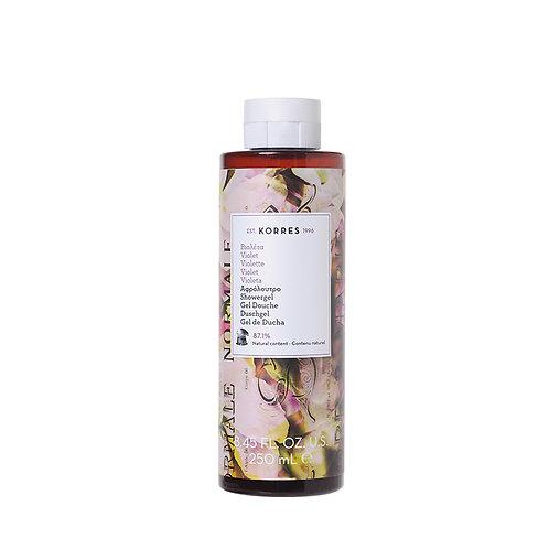 Korres Violet Shower Gel 250ml