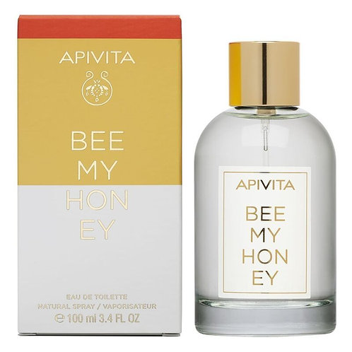 Apivita Bee My Honey, Women EDT Eau de Toilette w/ Citrus,Flowers & Honey,100ml