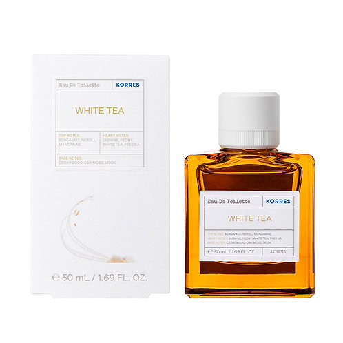 Korres Eau De Toilette,EDT,Fragrance Women,White Tea,50ml