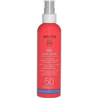 Apivita Bee Sun SafeHydra Melting Ultra-Light Face & Body Spray SPF50,200ml