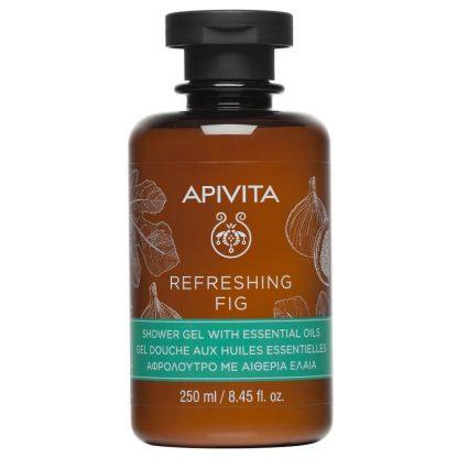 Apivita Refreshing FigShower Gel with Essential Oils,250ml