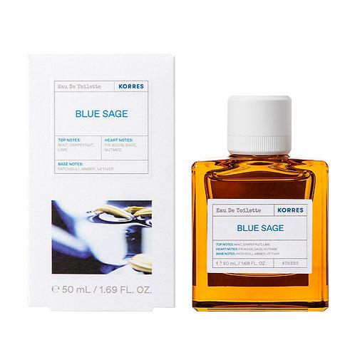 Korres Eau De Toilette,EDT,Fragrance Men,Blue Sage ,50ml