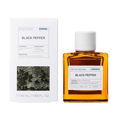 Korres Eau De Toilette,EDT,Fragrance Men,Black Pepper ,50ml