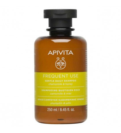 Apivita Frequent UseGentle Daily Shampoo with Chamomile & Honey,250ml