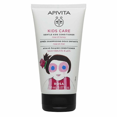 Apivita Kids Care Conditioner with Rose and Honey, 150ml
