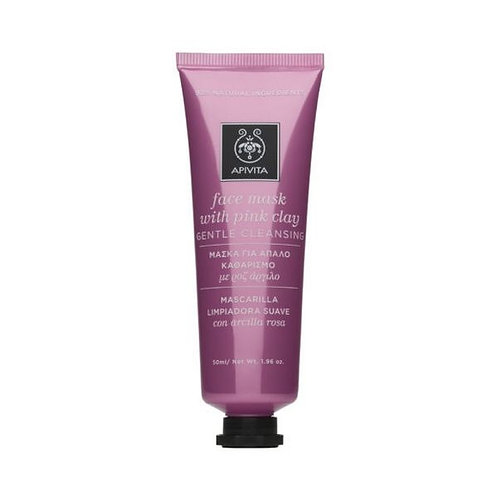 Apivita Gentle Cleansing Face Mask with Pink clay, 50ml