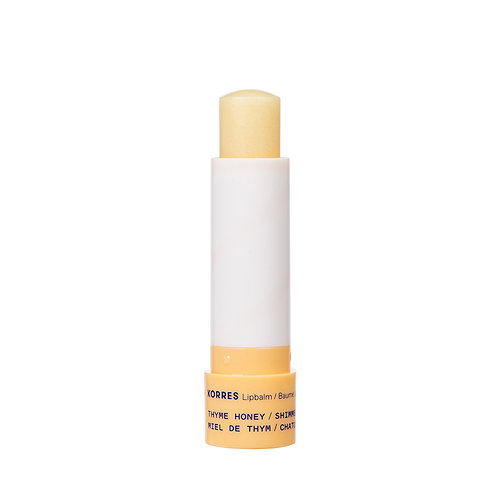 KorresThyme HoneyShimmerLipbalm Lip Balm Care, 4.5gr