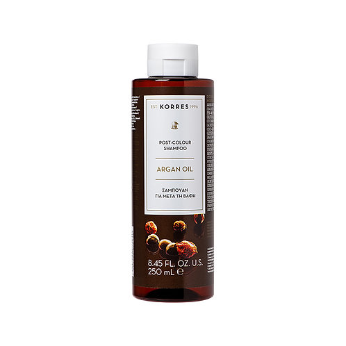 KorresArgan Oil Post-Colour Shampoo, 8.45 Fl. Oz. / 250 ml