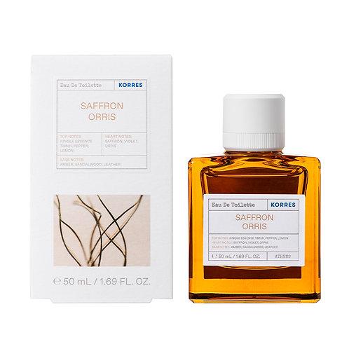 Korres Eau De Toilette,EDT,Fragrance Women, Saffron Orris ,50ml