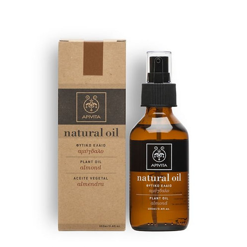 Apivita Natural Almond Oil , 100% Natural Ingredients ,100ml