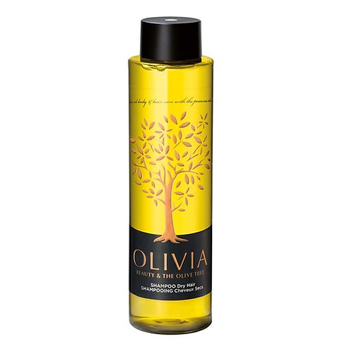 Olivia Papoutsanis Shampoo for Dry Hair,Greek Olive Oil & Provitamin B5, 300ml