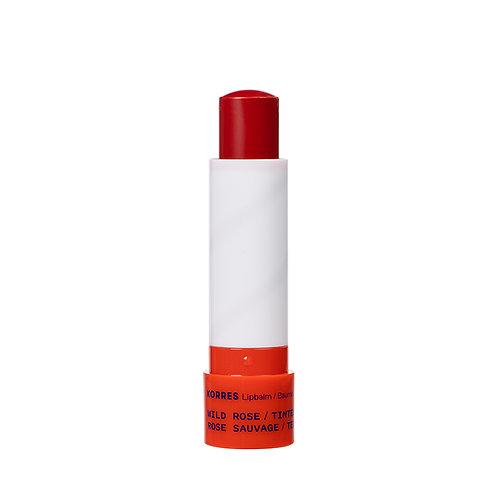 Korres Wild Rose TintedLipbalm Lip Balm Care, 4.5gr