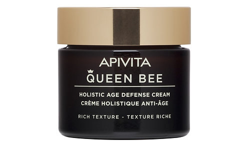 Apivita Queen Bee Holistic Age Defense Cream Rich Texture , 50ml