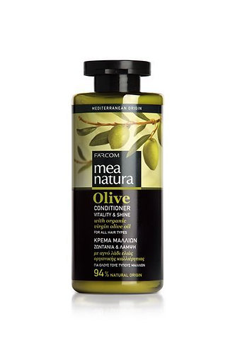 Mea Natura Olive Conditioner Vitality & Shine with Organic Olive Oil,300ml