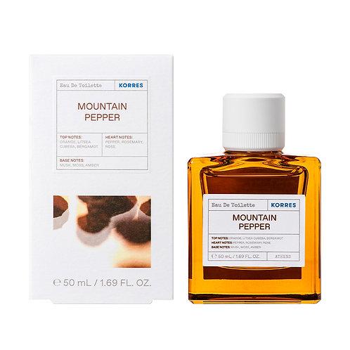 Korres Eau De Toilette,EDT,Fragrance Men,Mountain Pepper,50ml