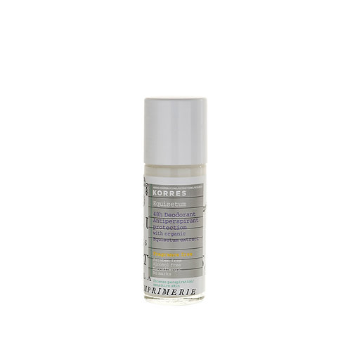Korres 48H Equisetum Deodorant,Intense Perspiration,No Fragrance,Sensitive Skin