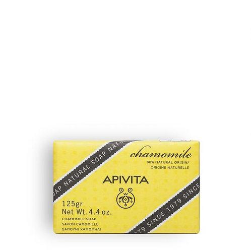Apivita Natural Soapwith Chamomile,125gr