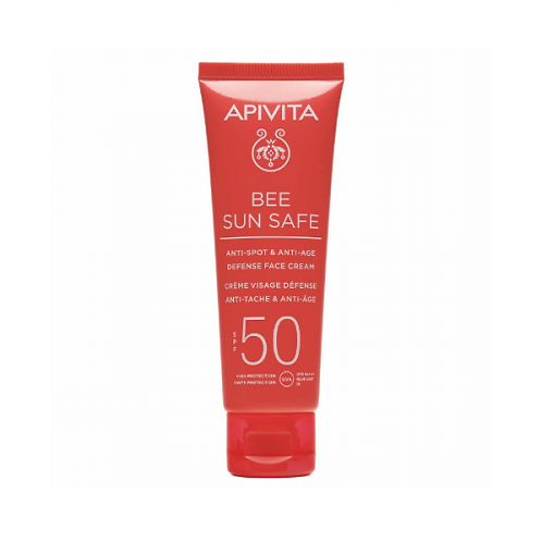 Apivita Bee Sun SafeAnti-Spot & Anti-Age Defense Face Cream SPF50,50ml