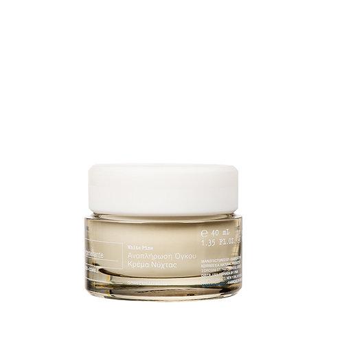Korres White Pine Restorative Overnight Facial Night Cream,Mature Skin 40ml