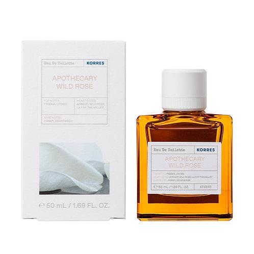 Korres Eau De Toilette,EDT,Fragrance Women,Apothecary Wild Rose ,50ml