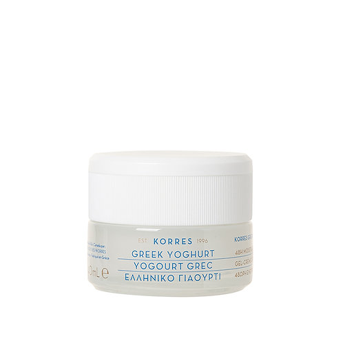 Korres Greek Yoghurt 48H Moisturiser Cream Gel for Dry Skin 40ml