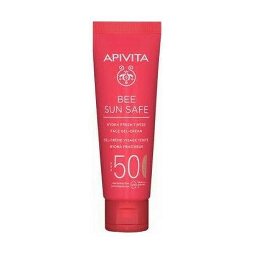 Apivita Bee Sun SafeHydra Fresh TINTED Face Gel Cream SPF50,50ml