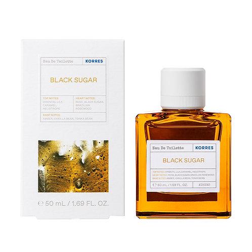Korres Eau De Toilette,EDT,Fragrance Women,Black Sugar,50ml