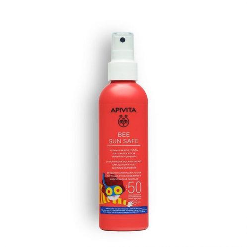 Apivita Bee Sun SafeHydra Sun Kids LotionSPF50,Easy Application,200ml