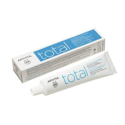 Apivita Total Protection Toothpaste with Propolis & Spearmint,75ml