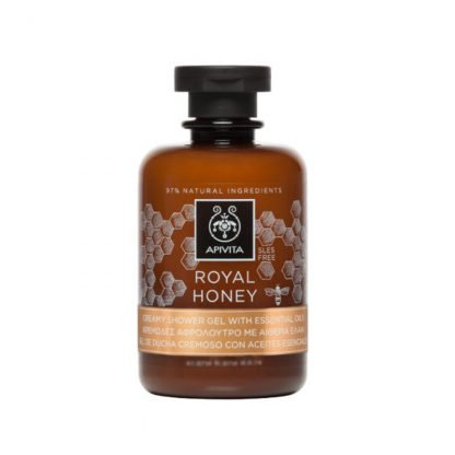 Apivita Royal Honey Shower Gel with Essential Oils,250ml