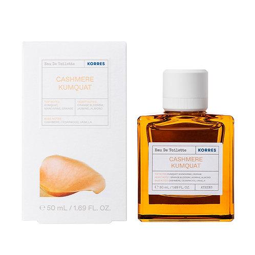 Korres Eau De Toilette,EDT,Fragrance Women,Cashmere Kumquat,50ml