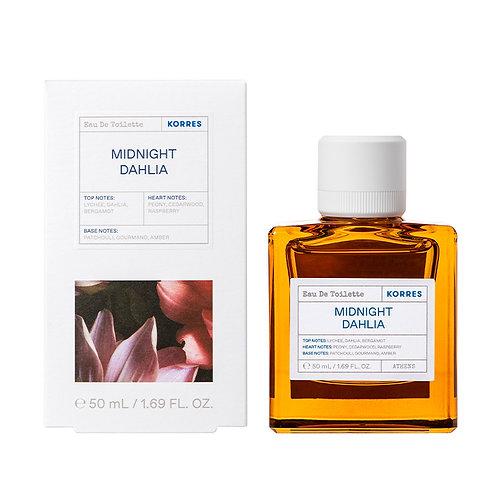 Korres Eau De Toilette,EDT,Fragrance Women,Midnight Dahlia,50ml
