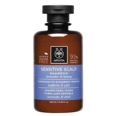 ApivitaSensitive Scalp Shampoo with Lavender and Honey,250ml