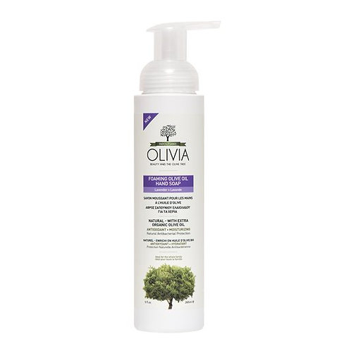 Olivia Papoutsanis Foaming Olive Oil Hand Soap with Lavender 265ml