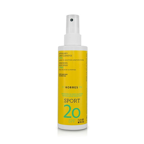 Korres Citrus Sport Sunscreen Body Spray SPF20 200ml
