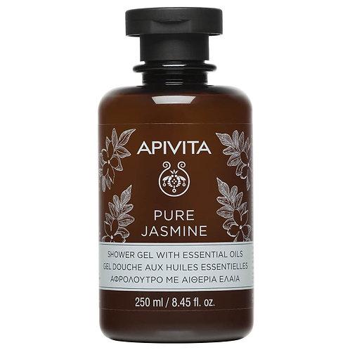 Apivita Pure JasmineShower Gel with Essential Oils,250ml