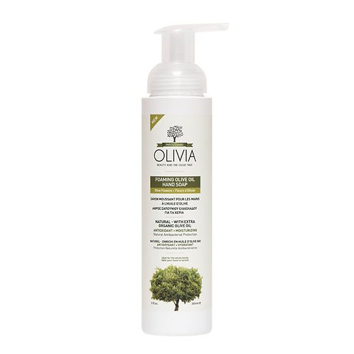 Olivia Papoutsanis Foaming Olive Oil Hand Soap with Olive Flowers 265ml