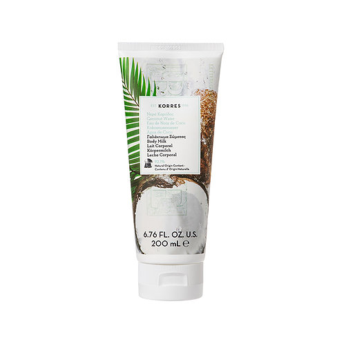 Korres Coconut Water Moisturizing Body Milk 200ml