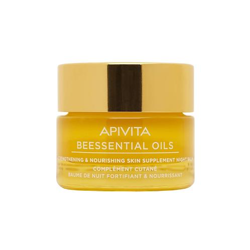 Apivita BeessentialStrengthening & Nourishing Skin Supplement Night Balm,15ml