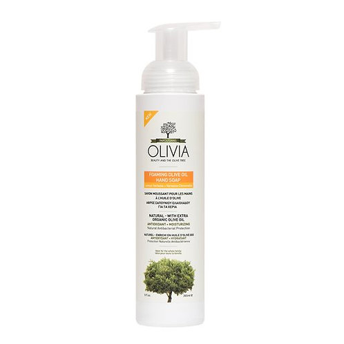 Olivia Papoutsanis Foaming Olive Oil Hand Soap with Lemon Verbena Extract 265ml